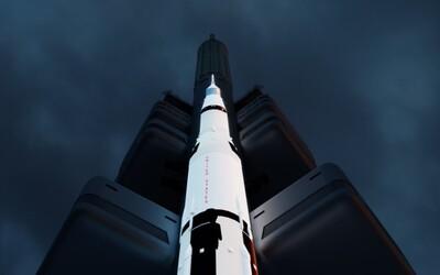 Ze Žižkovské věže vzletí Apollo 11. Přesně 50 let po přistání Armstronga na Měsíci