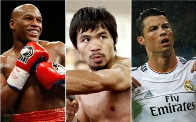Žebříčku nejbohatších sportovců kralují boxeři, fotbalisté a závodníci Formule 1