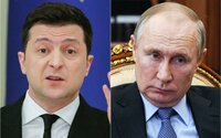 Zelenskyj pozval Putina na setkání v Donbasu. Rusko mezitím stupňuje vojenské cvičení