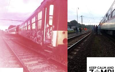 Železnice robia jednu chybu za druhou. Vykoľajený vlak dnes ráno blokuje úsek  Liptovský Mikuláš - Liptovská Teplá