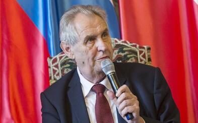 Zeman chce po BIS, aby mu sepsala informace o operacích ruských špionů a jejich jména. Experti se bojí vyzrazení