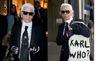 Zemřel legendární módní návrhář Karl Lagerfeld