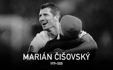 Zemřel Marián Čišovský. Fotbalista Viktorie Plzeň šest let bojoval s ALS