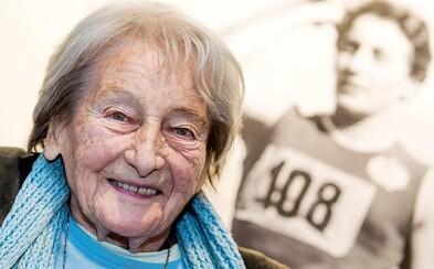 Zemřela Dana Zátopková. Olympijské vítězce bylo 97 let