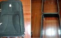 Žena chtěla do Číny propašovat kufr vyrobený z kokainu, obsahoval 10 kilogramů drogy. Teď jí hrozí trest smrti