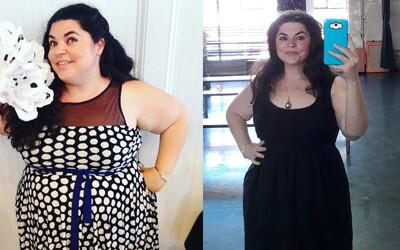 Žena schudla 67 kíl, aby sa viac páčila mužom. Tí sa jej odvtedy vyhýbajú oblúkom