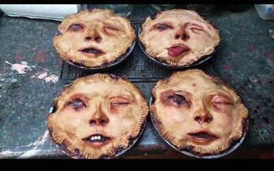 Žena vytvára desivo realistické koláče z ľudských tvárí. Ozdobí ti ich aj vlasmi, zubami či jazykom