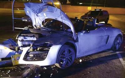 Ženich během rozlučky se svobodou rozbil Audi za skoro 4 miliony korun a zmlátil muže. Namísto svatby putuje na 18 měsíců za mříže