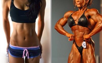 Ženy a cvičenie: Ale ja nechcem byť taká svalnatá!