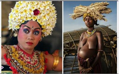 Ženy napříč kulturami: Na Bali mají stejná těla jako muži, ženy z kmene Pygmejové Mbuti zase rodí při lovu