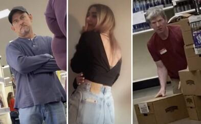 Ženy natáčejí, jak jim kolemjdoucí muži koukají na zadek. Stačí mobil se zapnutým nahráváním v kapse