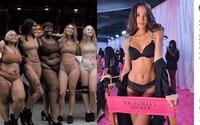 Ženy sa na protest vyzliekli pred Victoria's Secret. Žiadajú väčšiu diverzitu od všetkých značiek