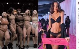 Ženy se na protest svlékly před Victoria's Secret. Žádají více diverzity od všech značek