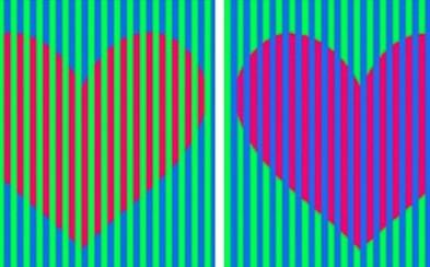 Zhodnúť sa na farbe dvoch obyčajných sŕdc na jednom obrázku nie je také jednoduché, ako sa môže na prvý pohľad zdať