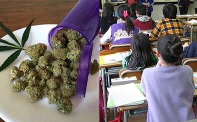 Žáci v Coloradu budou moct užívat lékařskou marihuanu přímo ve škole