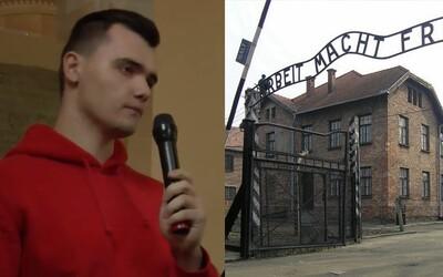 Žiadny holokaust nebol, tvrdil mladý Slovák pred očami ženy, ktorá hrôzy druhej svetovej vojny prežila