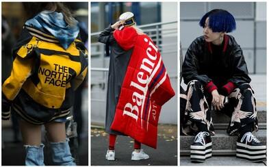 Zimní inspirace pouliční módy, kde si na své přijdou jak páni, tak zástupkyně něžnějšího pohlaví
