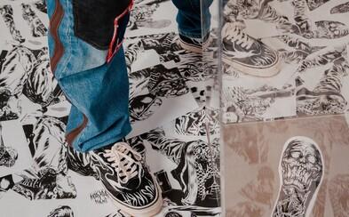 Získej svůj pár speciálně upravených Vans Old Skool 36 DX od slovenského umělce Olivera Mušinky