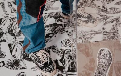 Získaj svoj pár špeciálne upravených Vans Old Skool 36 DX od slovenského umelca Olivera Mušinku