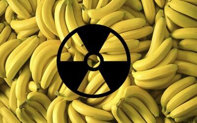 Zjedením obyčajného banánu sa vystavíte vyššej dávke radiácie ako pri ročnom pobyte blízko jadrovej elektrárne