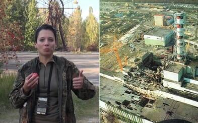 Zjedla rádioaktívne jablko z Černobylu a hrala sa s uránom vo vlastných rukách. Okolie zničenej jadrovej elektrárne nie je pre ženu tabu