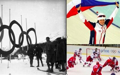 Zlatá česká historie zimních olympijských her. Vzpomínáte na nejvýznamnější momenty svátku zimního sportu?