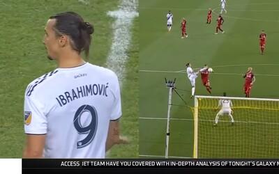 Zlatan Ibrahimović zaknihoval jubilejný 500. gól v kariére svojím typickým štýlom