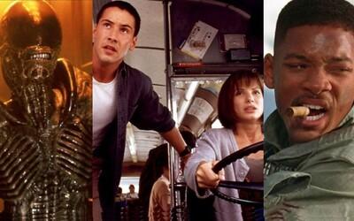 Zlaté 90. roky sa postarali o legendy akčného žánru, sci-fi klasiky a nezabudnuteľné horory. Toto sú tie najlepšie z nich