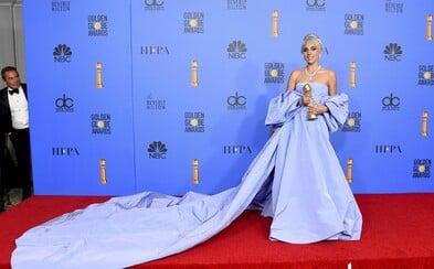 Zlaté glóby nabídly nádherné outfity, mezi nimiž vynikla Lady Gaga