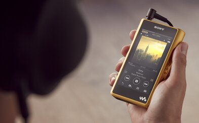 Zlato, high-res audio a nechutne vysoká cena. Nový Walkman od Sony poteší nejedného fajnšmekra