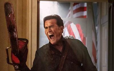 Zlo sa vracia na obrázkoch k Ash vs Evil Dead!