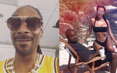 Zlobíš se, protože Drake vyje*al tvou ženu. Snoop Dogg útočí na Kanyeho Westa za kamarádství s Trumpem