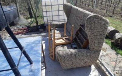 Zloděj na Břeclavsku ukradl celý zahradní domek. Majiteli zůstal jen nábytek a betonový základ