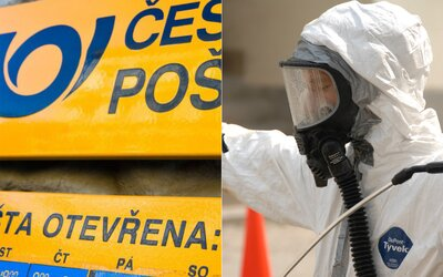 Zlodej v Česku si vymyslel chemický útok a zamestnankyňu pošty presvedčil, že prišiel vydezinfikovať bankovky