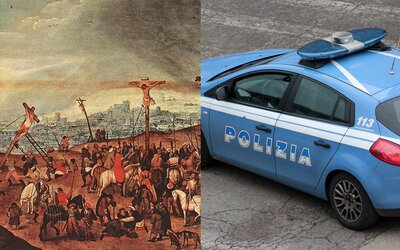 Zlodeji prišli ukradnúť obraz za 3 milióny eur. Polícia ich oklamala, podstrčila kópiu a nastražila kamery