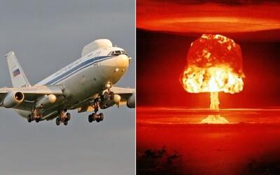 Zloději vykradli ruské utajované letadlo, které má sloužit v případě jaderné války