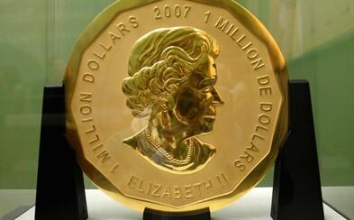 Zlodejom sa z múzea podarilo ukradnúť najväčšiu zlatú mincu v hodnote 4 milióny eur. Ušli vraj vďaka rebríku a museli ju vyniesť na poschodie