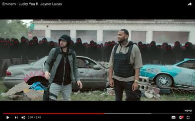 Zmätený Eminem zisťuje, že ho všetci dlhé roky kopírujú. Prerušil kvôli tomu videoklip, kde dissuje mumble raperov
