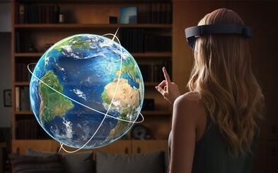 Zmiešaná realita alebo aplikácie, ktoré umožnia opäť vidieť. Ako vyzerá budúcnosť podľa Microsoftu?