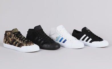 Značka adidas představuje ve skateboardingu tradici, kterou aktuálně definuje zcela nový model Matchcourt