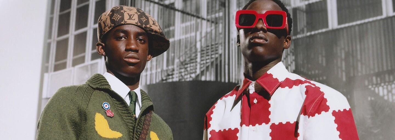 Značka Louis Vuitton pokračuje v kombinaci poctivé krejčoviny a pouliční módy i pro sezónu jaro 2022