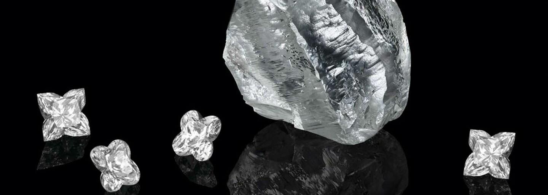 Značka Louis Vuitton získala 549karátový diamant, který je starý 1 až 2 miliardy let