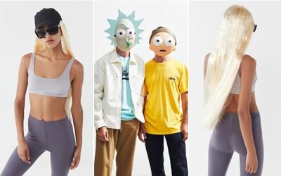 Značka nabízí halloweenský kostým inspirovaný Kim Kardashian. Pobavila také maskami Ricka a Mortyho