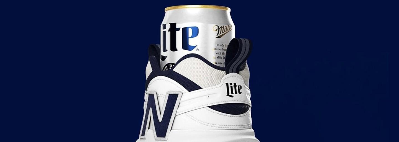 Značka New Balance predstavila topánku na plechovku piva