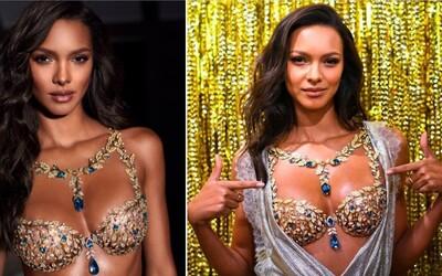 Značka Victoria's Secret odhalila luxusnú podprsenku zdobenú drahými kameňmi. Má hodnotu viac ako 1,7 milióna eur