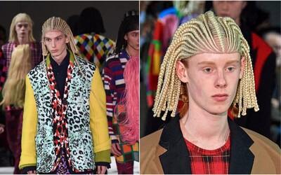 Známá módní značka čelí kritice. Modelové měli na přehlídce bílé dredy, prý zneužívají africkou kulturu