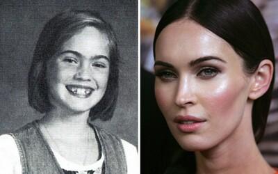 Známe osobnosti, ktorých začala meniť až puberta. V škole nepatrili medzi krásavcov, ale pomaly sa tam dopracovali