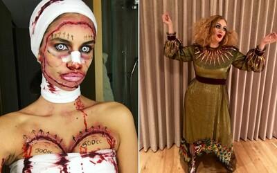 Známé osobnosti si Halloween mimořádně užily. V jakých kostýmech se ukázaly?