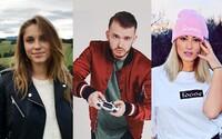Známe slovenské tváre hodnotia rok 2017. V čom zlyhali a čo plánujú Aless, Zrebný, Strapo, Momo či Barbora Bakošová?