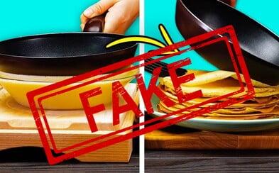 Známe videá s rýchlymi a šikovnými receptami majú miliardy videní, no mnohé z nich sú falošné